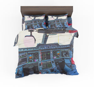 Airbus A350 Cockpit Designed Bedding Sets