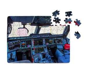 Airbus A350 Cockpit Printed Puzzles Aviation Shop