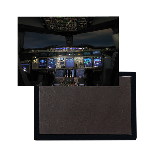 Airbus A380 Cockpit Printed Magnet