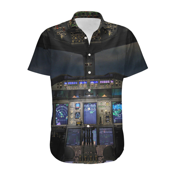 Airbus A380 Cockpit Designed 3D Shirts