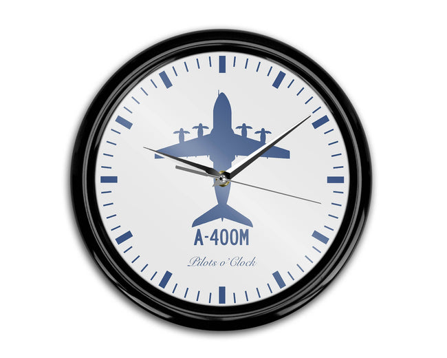 Airbus A400M Printed Wall Clocks Aviation Shop