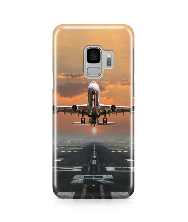 Aircraft Departing from RW30 Printed Samsung J Cases