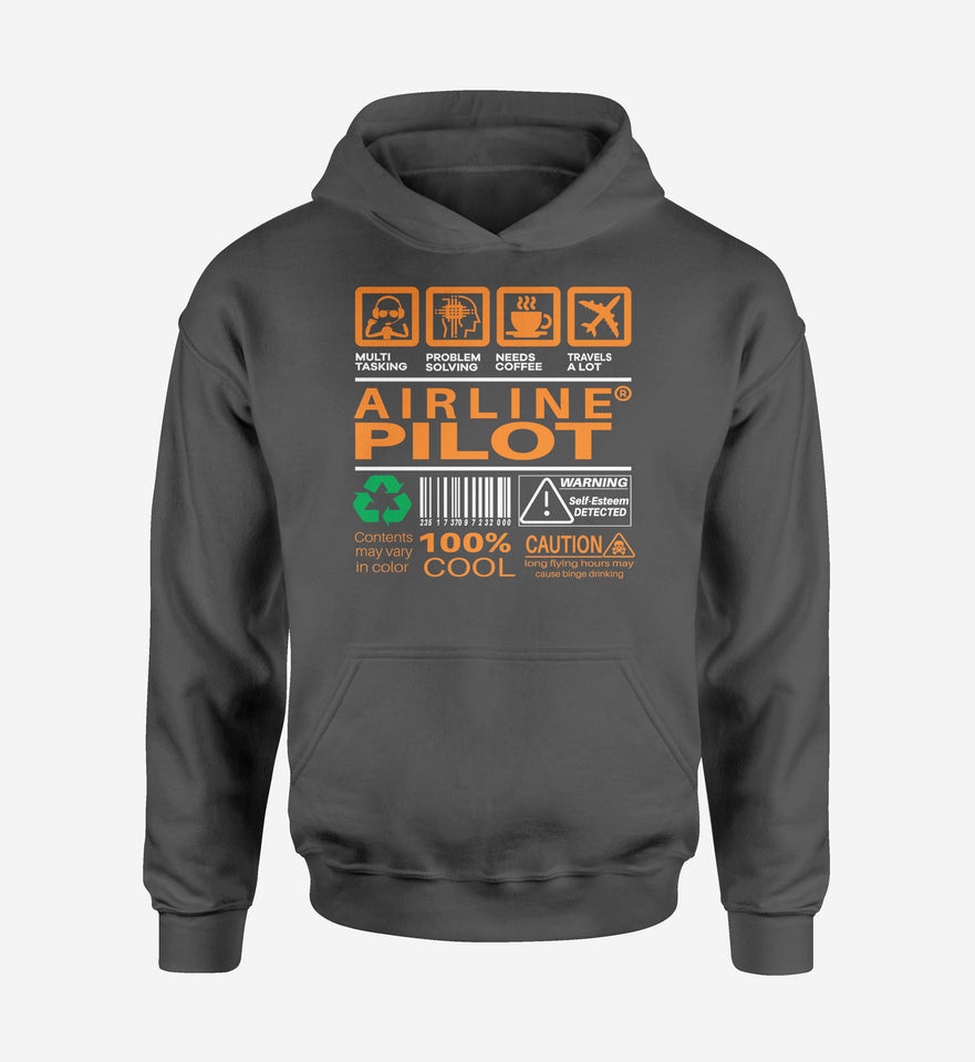 Airline Pilot Label Designed Hoodies