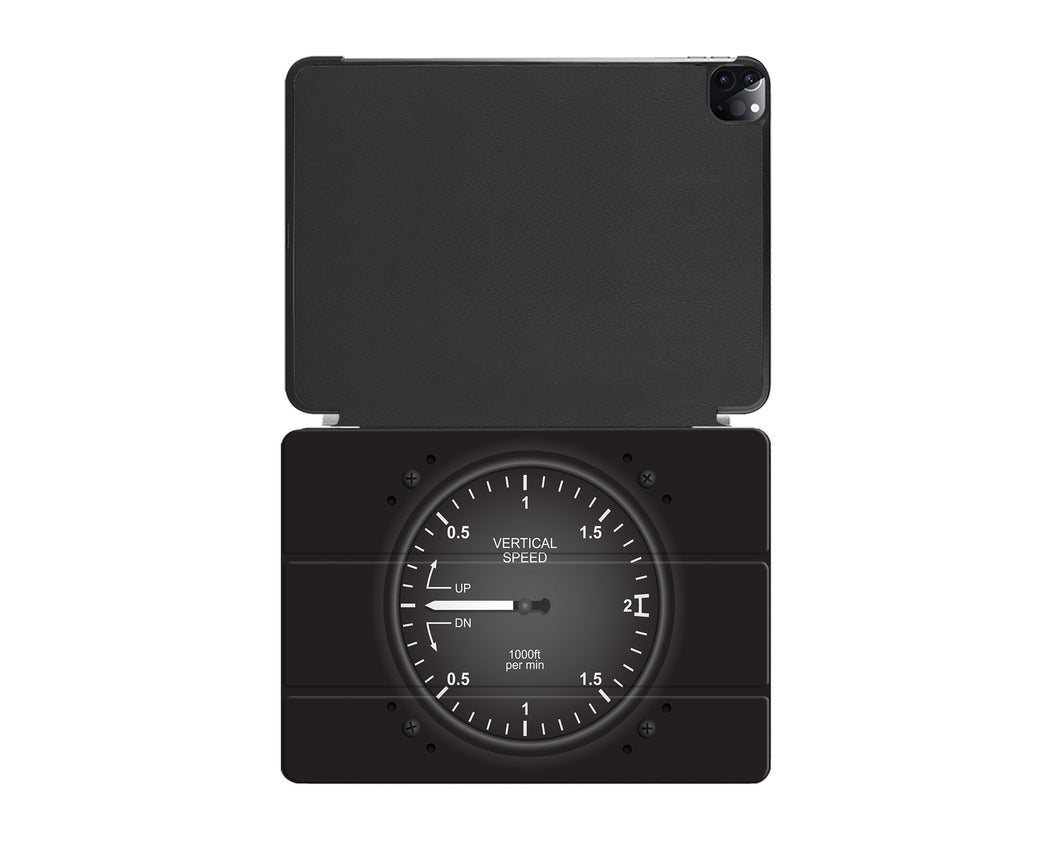 Airplane Instruments (Vertical Speed) Designed iPad Cases