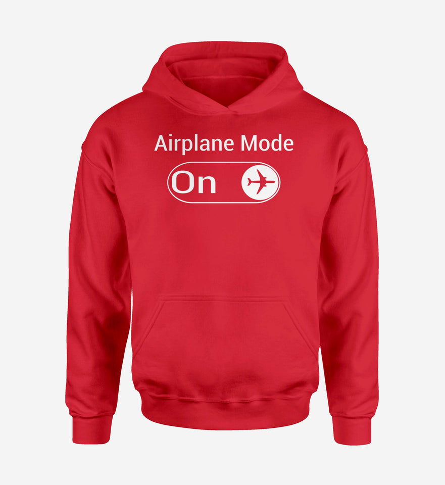 Airplane Mode On Designed Hoodies