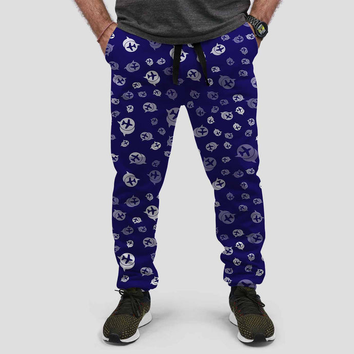 Airplane Notification Theme Designed Sweat Pants & Trousers