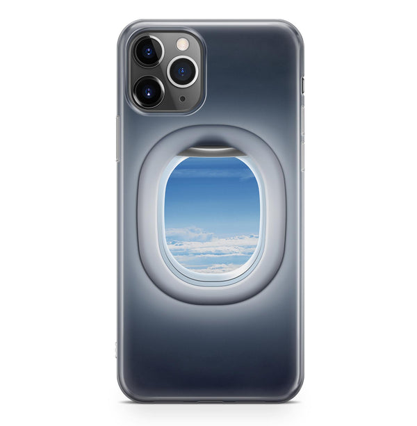 Airplane Passenger Window Designed iPhone Cases