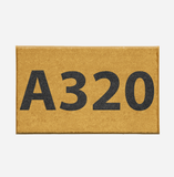 "Airport Ground Signs Designed ""Airbus A320"" Door Mats Aviation Shop"