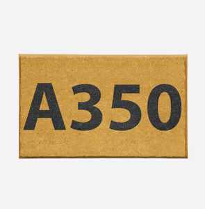 "Airport Ground Signs Designed ""Airbus A350"" Door Mats Aviation Shop"