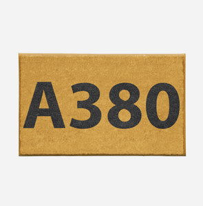 "Airport Ground Signs Designed ""Airbus A380"" Door Mats Aviation Shop"
