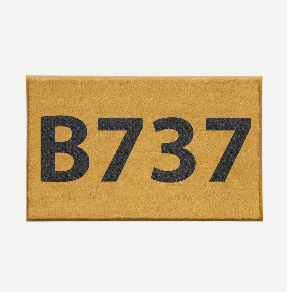 "Airport Ground Signs Designed ""Boeing 737"" Door Mats Aviation Shop"