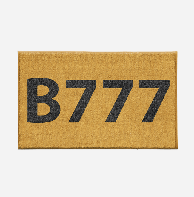 "Airport Ground Signs Designed ""Boeing 777"" Door Mats Aviation Shop"