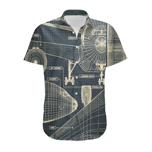 Airplanes Fuselage & Details Designed 3D Shirts