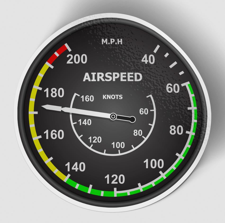 Airspeed 2 Designed Stickers