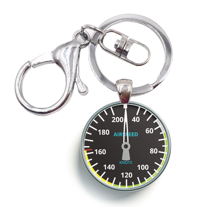 Airspeed Designed Circle Key Chains