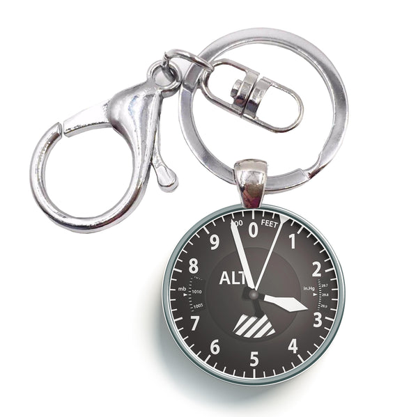Altitude Designed Circle Key Chains