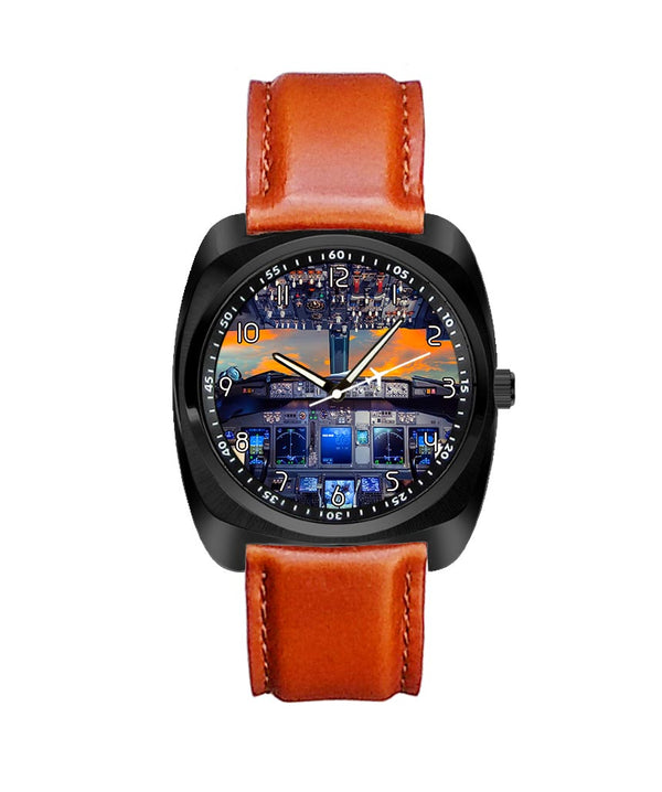 Amazing Boeing 737 Cockpit Designed Luxury Watches