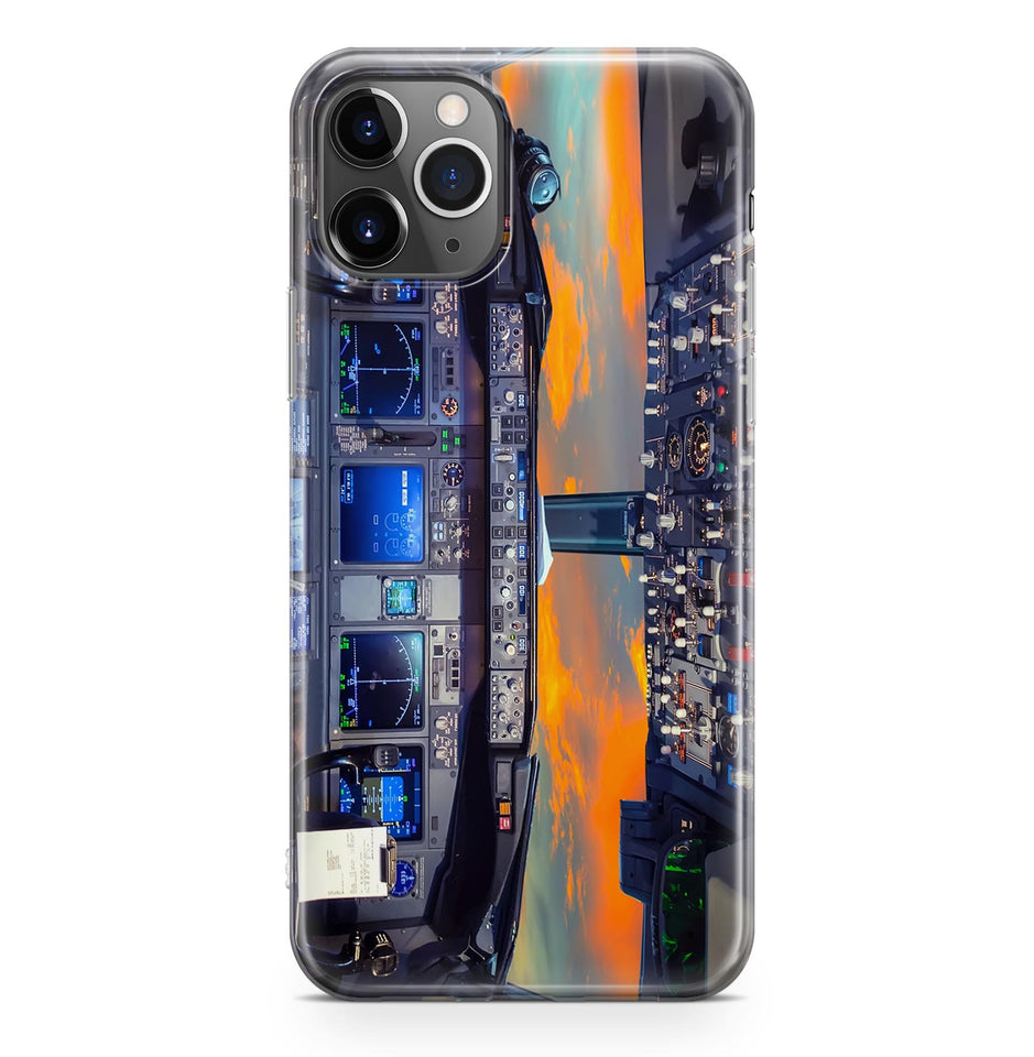 Amazing Boeing 737 Cockpit Printed iPhone Cases