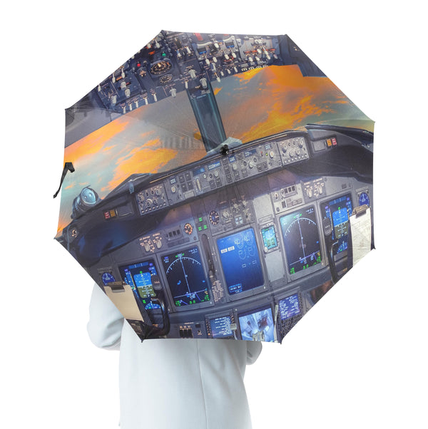 Amazing Boeing 737 Cockpit Designed Umbrella
