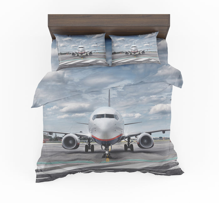 Amazing Clouds and Boeing 737 NG Designed Bedding Sets