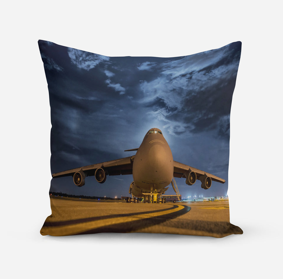 Amazing Military Aircraft at Night Printed iPhone Cases