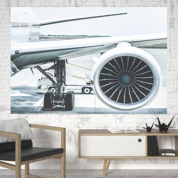 Amazing Aircraft & Engine Printed Canvas Posters (1 Piece)