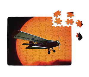 Amazing Antonov-2 With Sunset Printed Puzzles Aviation Shop