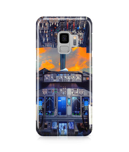 Amazing Boeing 737 Cockpit Printed Samsung J Cases