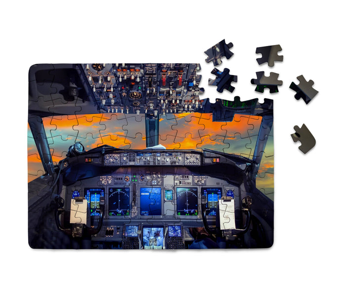 Amazing Boeing 737 Cockpit Printed Puzzles Aviation Shop