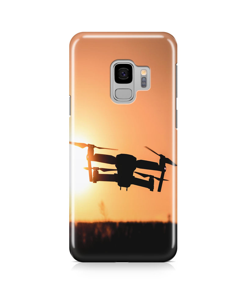 Amazing Drone in Sunset Printed Samsung J Cases