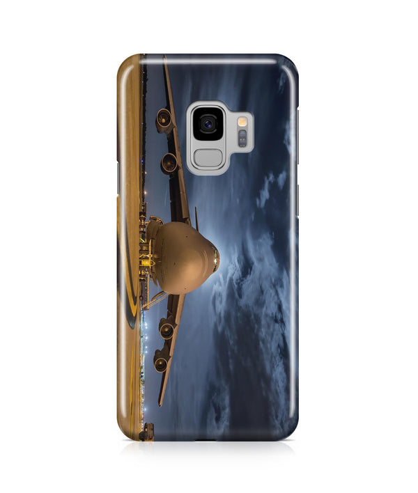 Amazing Military Aircraft at Night Printed Samsung J Cases