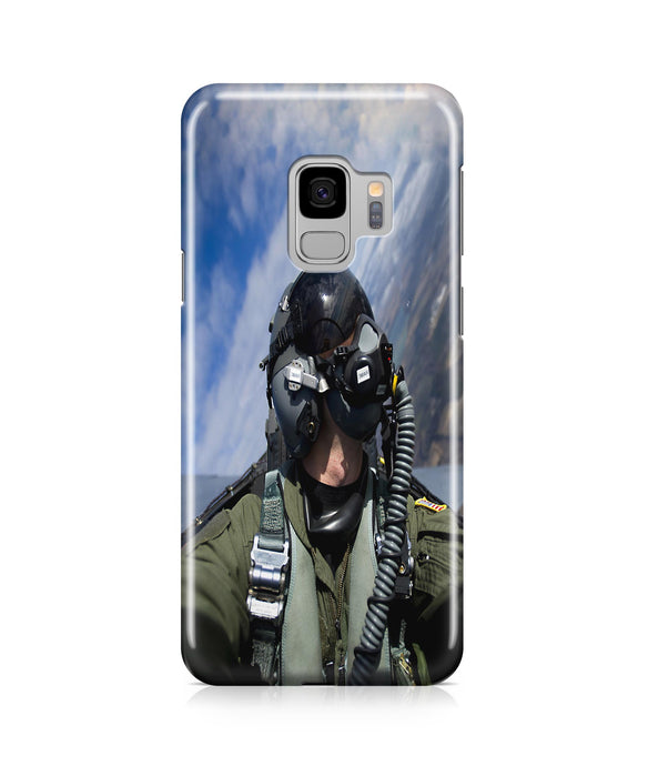 Amazing Military Pilot Selfie Printed Samsung J Cases