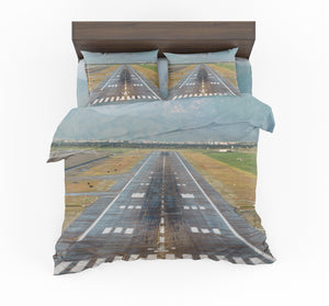 Amazing Mountain View & Runway Designed Bedding Sets