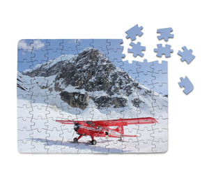 Amazing Snow Airplane Printed Puzzles Aviation Shop