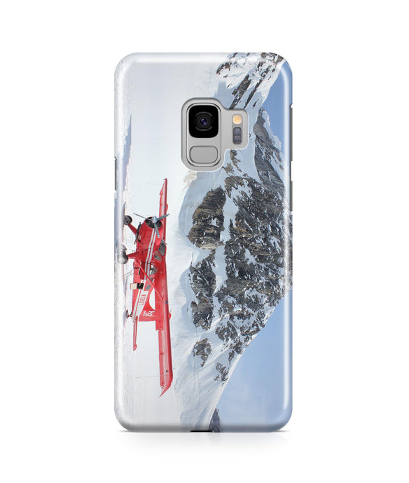 Amazing Snow Airplane Printed Samsung J Cases