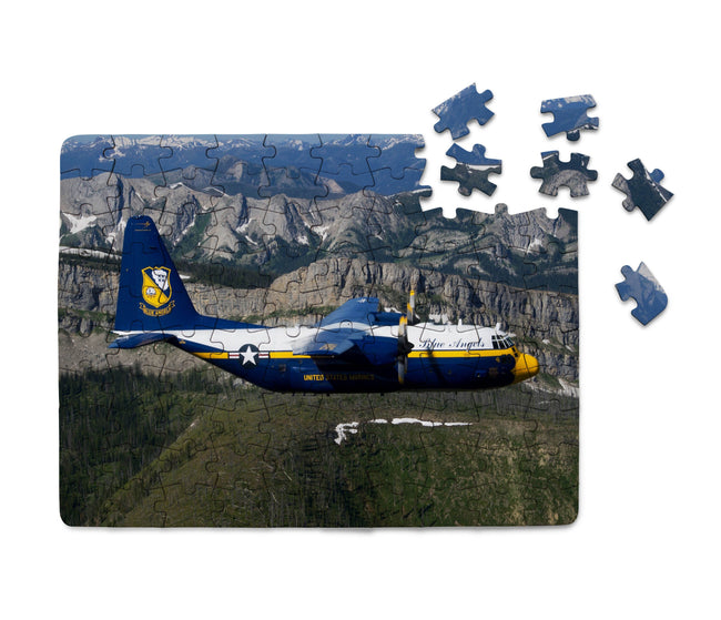 Amazing View with Blue Angels Aircraft Printed Puzzles Aviation Shop