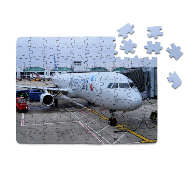 American Airlines A321 Printed Puzzles Aviation Shop