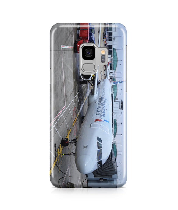 American Airlines A321 Printed Samsung J Cases