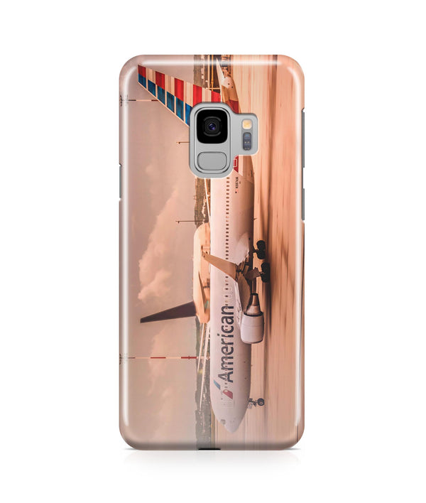 American Airlines Boeing 767 Printed Samsung J Cases