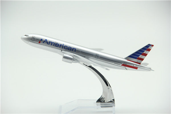 American Airlines Boeing 777 Airplane Model (16CM)