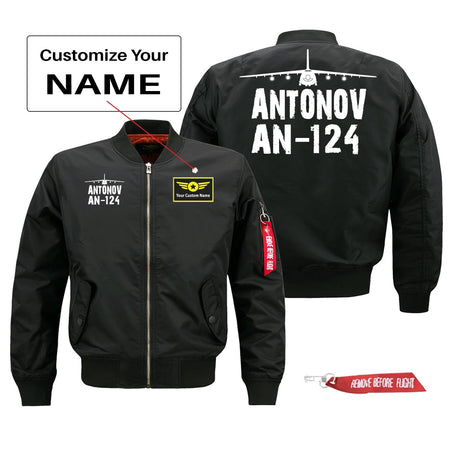 Antonov AN-124 Silhouette & Designed Pilot Jackets (Customizable)