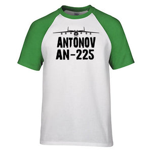 Antonov AN-225 & Plane Designed Polo T-Shirts