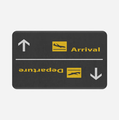 Departures & Arrivals 3 Designed Door & Bath Mats