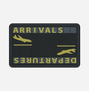Arrival & Departures 6 Designed Designed Bath Mats Aviation Shop