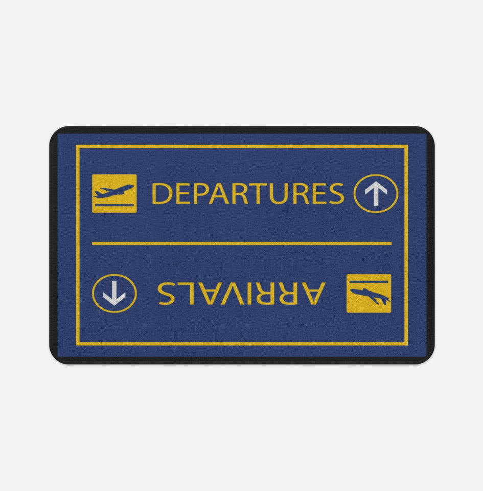 Arrival & Departures 7 Designed Bath Mats Aviation Shop