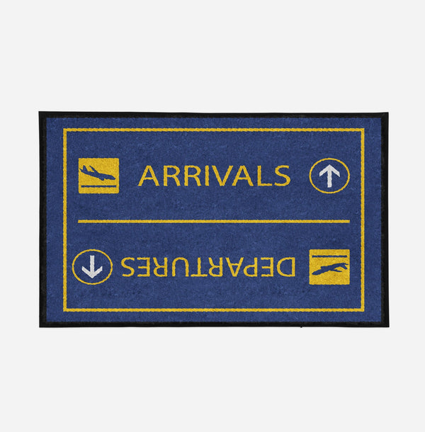 Arrival & Departures 7 Designed Door Mats Aviation Shop