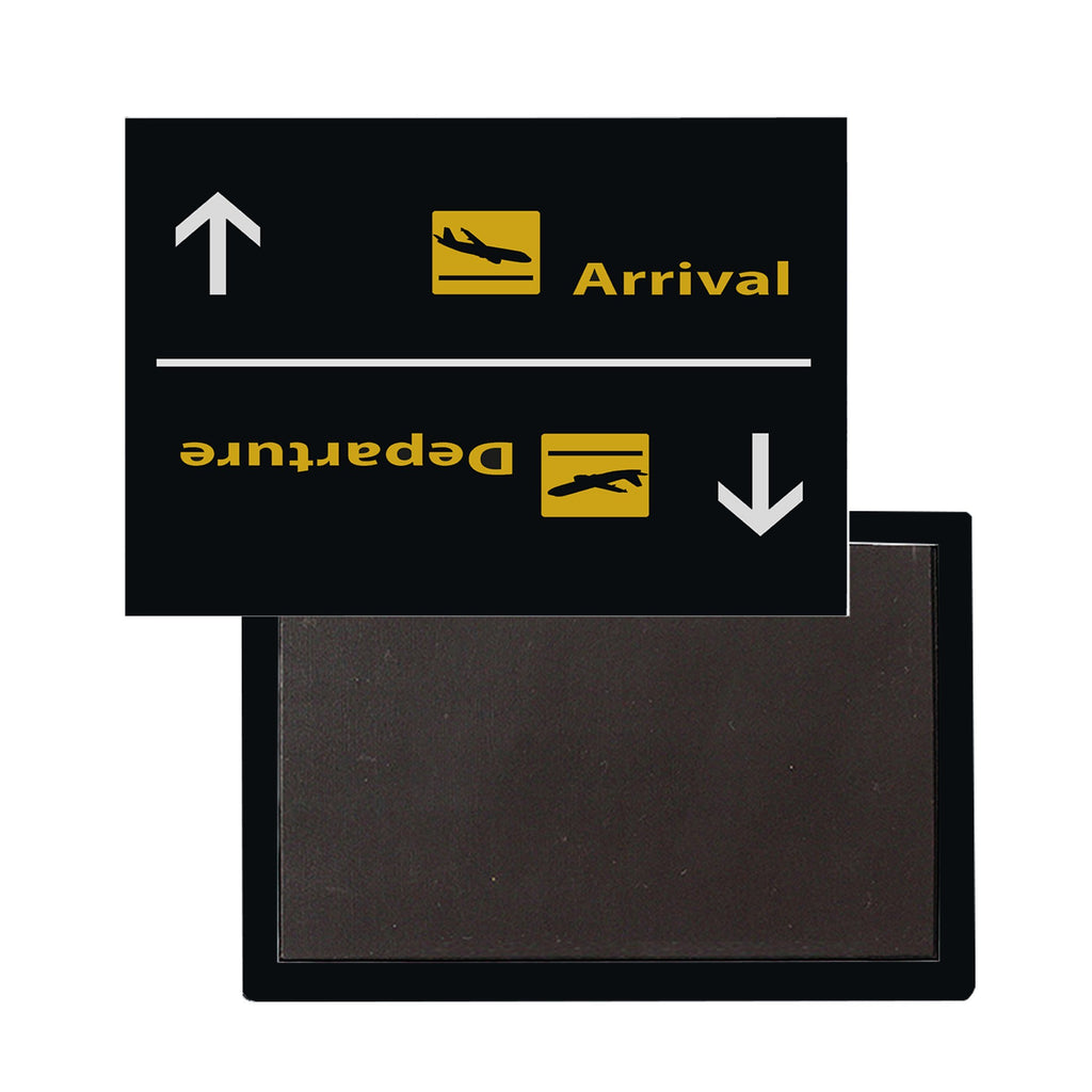 Arrivals and Departures 3 Designed Magnet