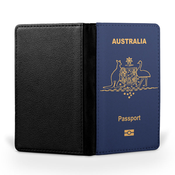 Australia Passport Designed Passport & Travel Cases