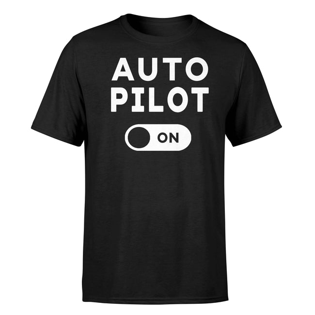 Auto Pilot On Designed T-Shirts