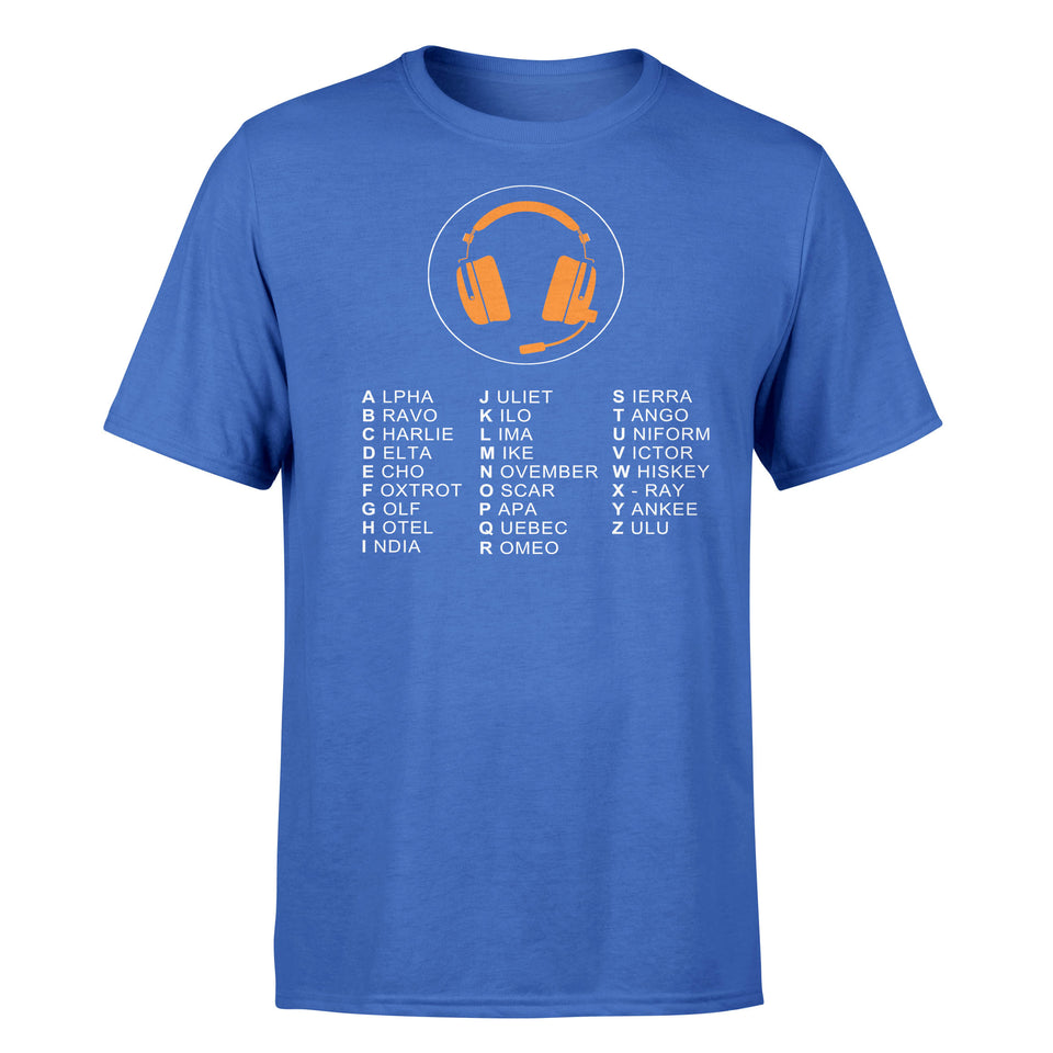 Aviation Alphabet 3 Designed T-Shirts